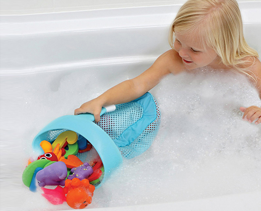 BRICA Super Scoop Bath Toy Organizer 浴 ...