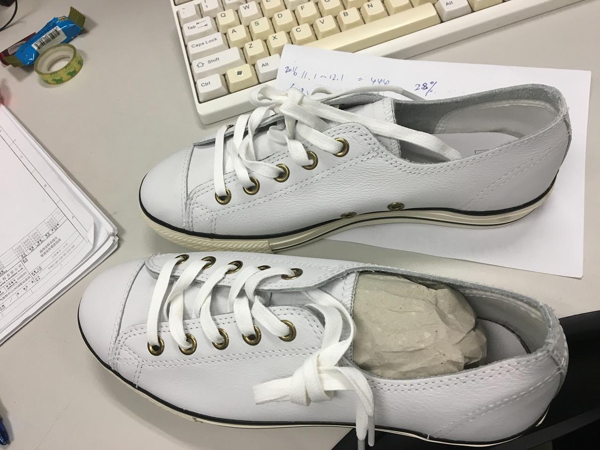 匡威Converse小白鞋晒单啦