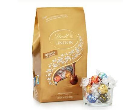 LINDOR 瑞士莲 金装5种口味软心巧克力 ... ...