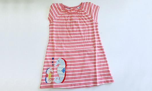 【免费试用】Boden英国时尚童装—海马纯棉A字连衣裙