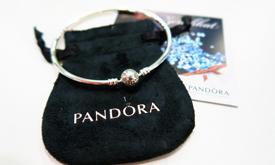 【5姐晒单】买完串珠才想起来买Pandora 圆头925银手镯
