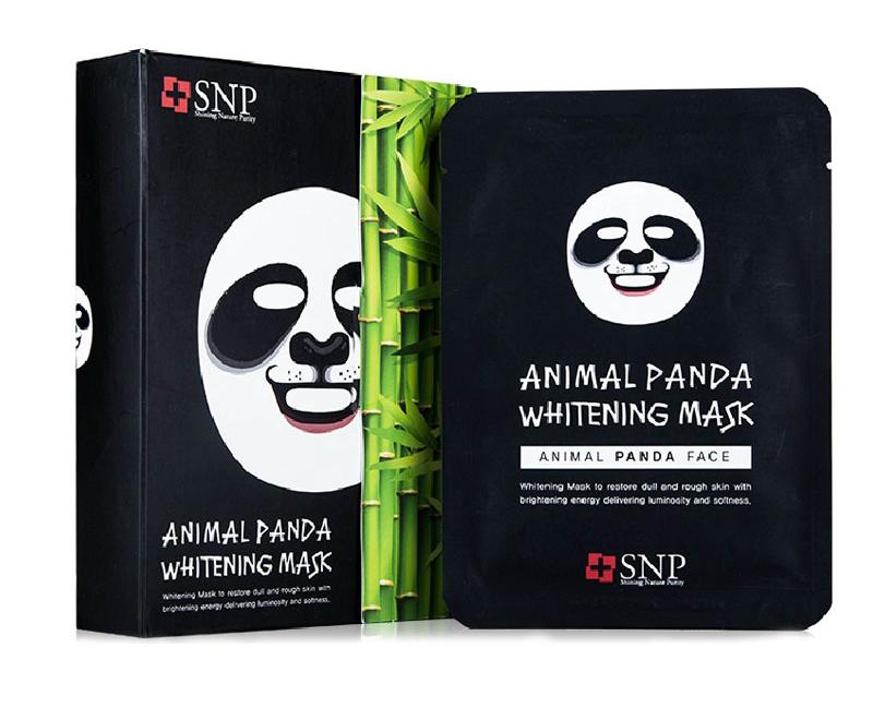 SNP熊猫动物面膜