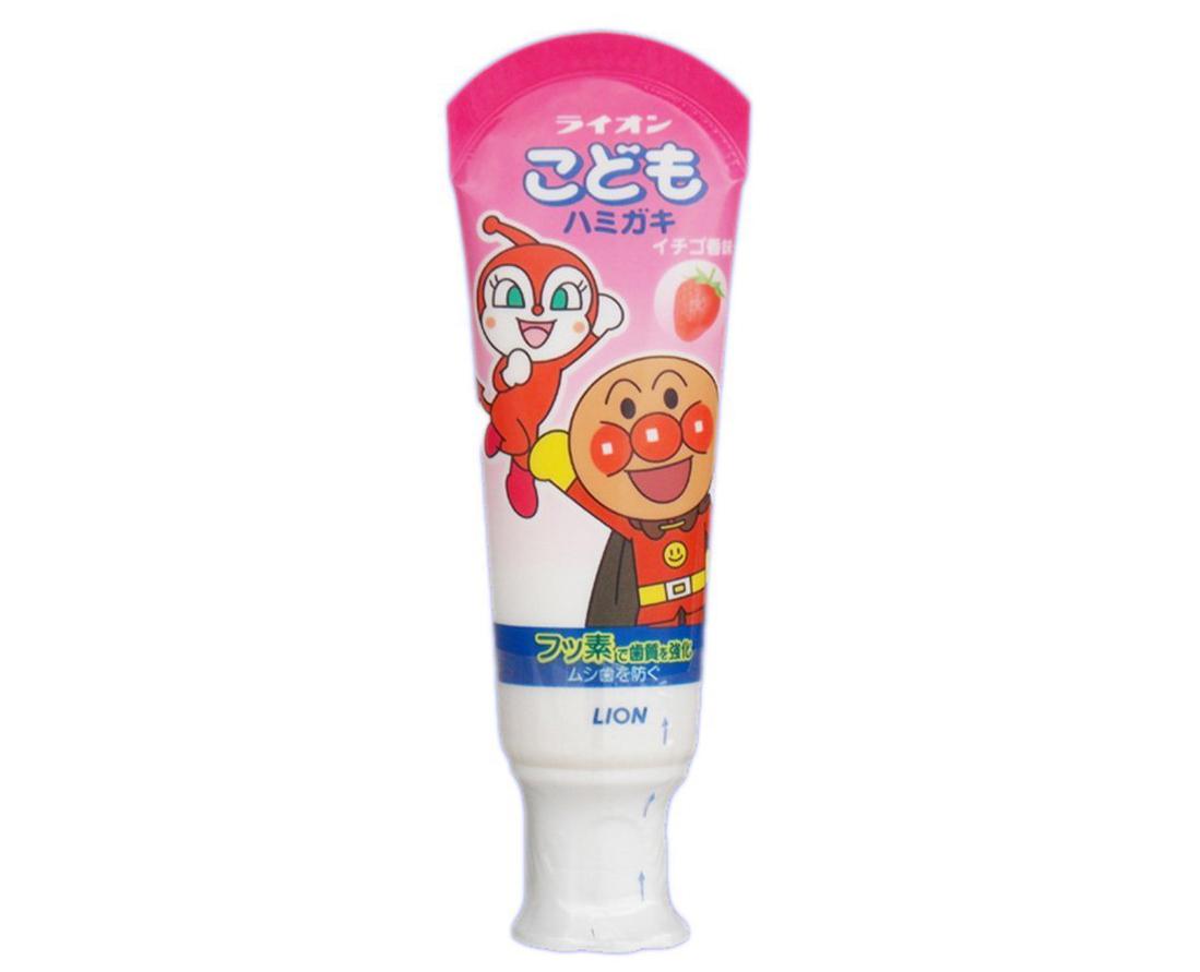 Lion狮王草莓儿童牙膏40g