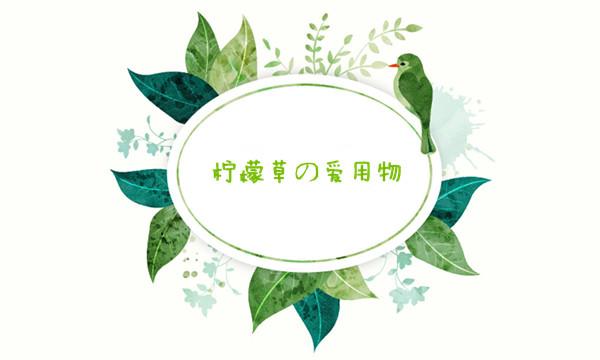 柠檬草的爱用物.jpg