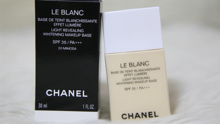 【评测试用】Chanel香奈儿妆前乳珍珠白测评,不易脱妆