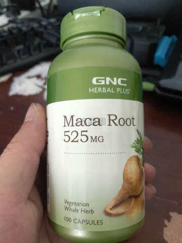 抗疲劳 缓解压力——GNC玛咖胶囊 健安喜(gnc)玛卡干果MACA