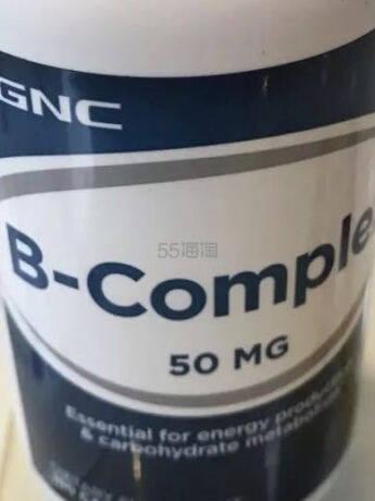 补充维B你值得购~~~美国进口 健安喜(GNC) 维生素B复合胶囊