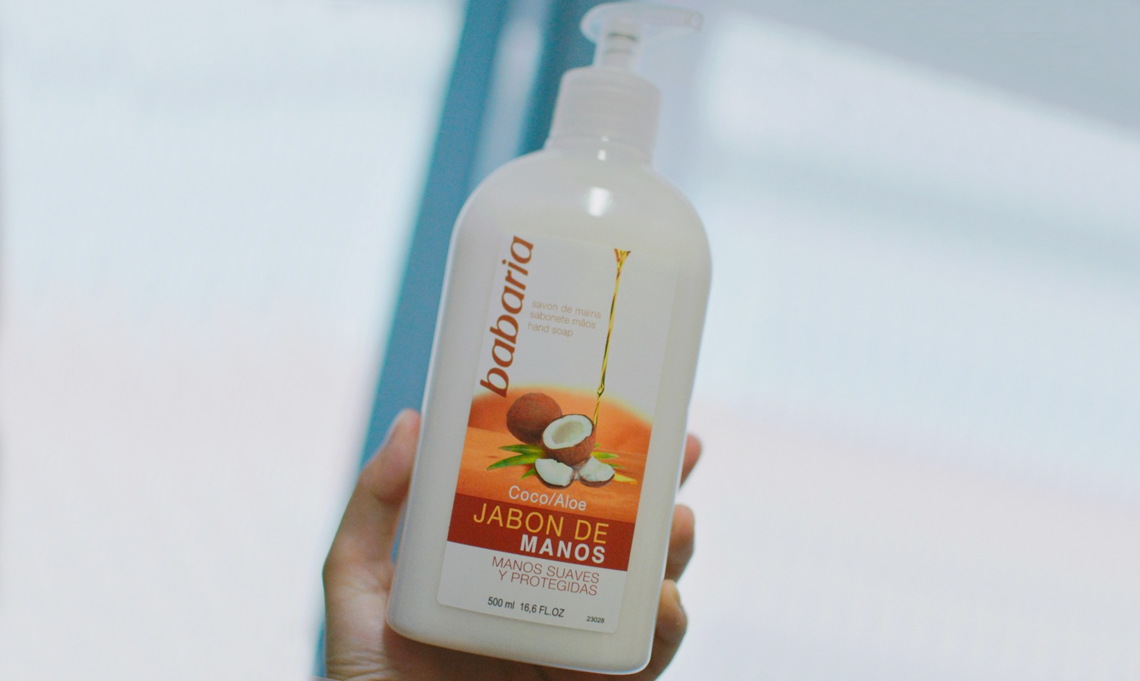 【适用报告】Babaria椰子芦荟洗手液——清香滋润双手
