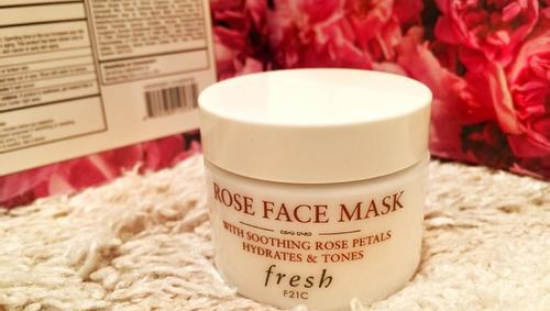 【评测试用】fresh玫瑰面膜,不愧是fresh当家花旦!