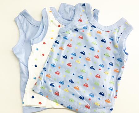 big oshi婴儿纯棉背心套装 3件装 (适合6-9 ... ...