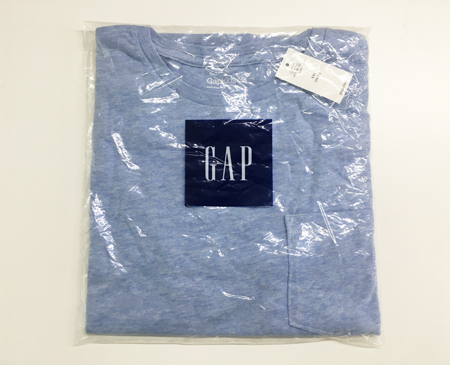 gap大童(14-16岁)浅蓝色T恤   XXL
