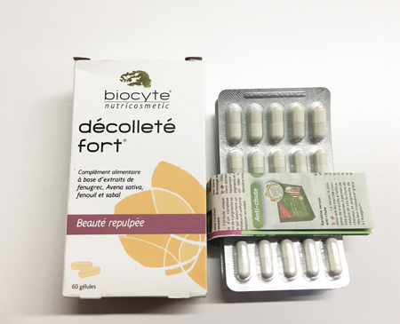 biocyte decollete fort 丰胸胶囊 60粒 ...