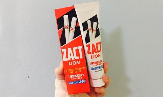 【好货推荐】神奇的LION狮王ZACT去烟渍防口臭牙膏!