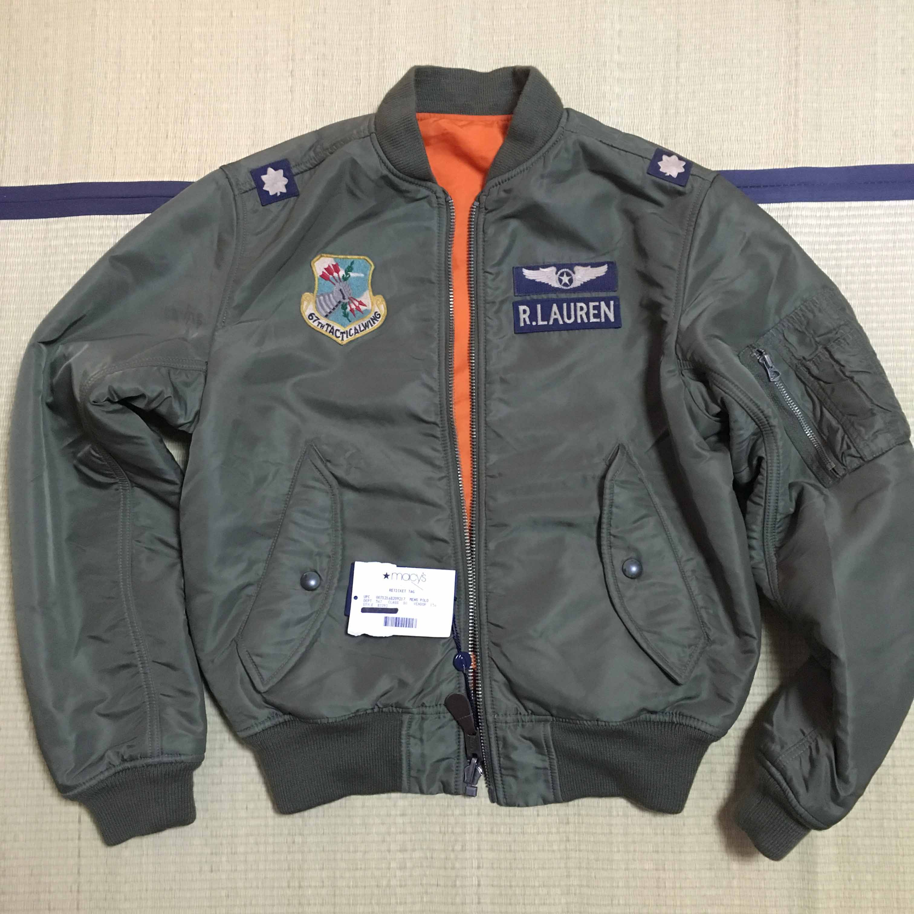 Polo Ralph Lauren 经典MA-1飞行员夹克