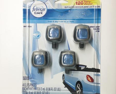 Febreze汽车香水 2ml*4