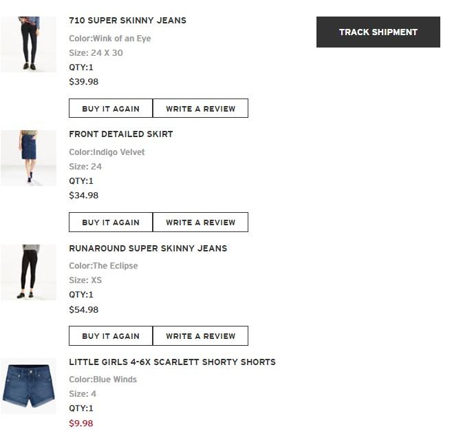 【黑五战利品】+75折的悦木之源+75折的倩碧+6折入的Levi's牛仔裤