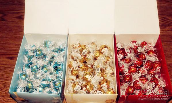 【开箱晒物】年货囤起来!超好吃的Lindt 瑞士莲巧克力
