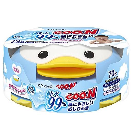 大王(GOO.N) 温柔呵护宝宝肌肤的湿巾 主体 70片.png