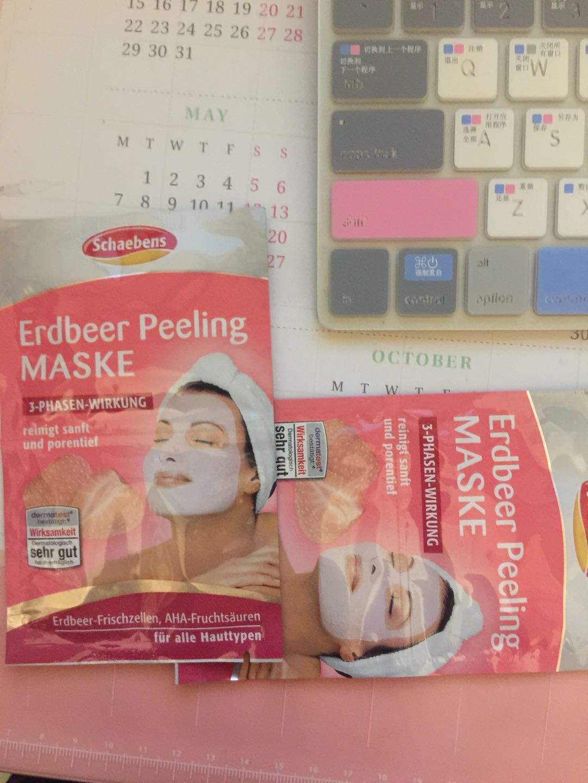 【2月金币兑换晒单】+Schaebens,Erdbeer Peeling Maske