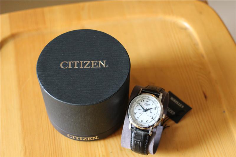 Citizen 西铁城 AO9000-06B 男款光动能腕表风骚小篮针全新闲置寻有缘人~~~~~~~~~·
