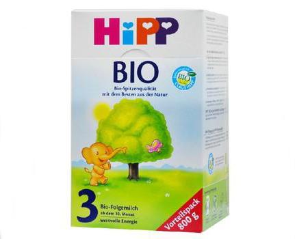 德国喜宝HiPP有机婴儿配方牛奶粉三段3盒(2 ... ...