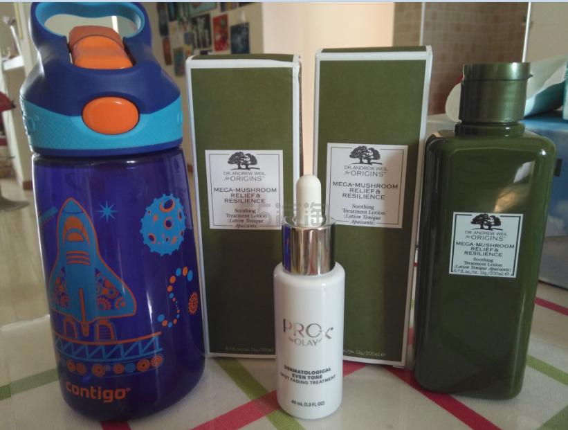 海淘优运UUrush+Origins/Amazon+菌菇水/Olay淡斑小白瓶/康迪克水杯