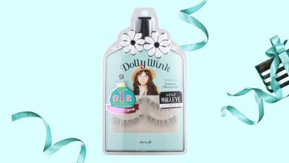 【评测试用】Dolly Wink No.9和5上下假睫毛使用心得