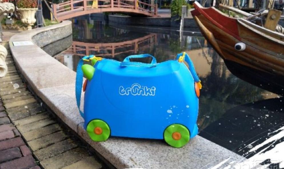 【好货推荐】带着Trunki儿童行李箱一起去旅行看世界