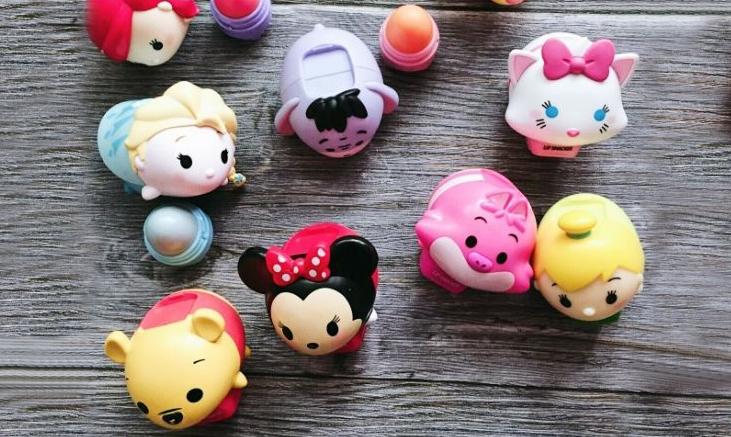 【獎品曬單】超Q超萌超可愛的迪士尼米奇米妮唇膏套裝