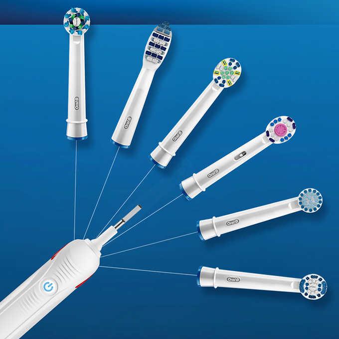 Oral-B 欧乐B 电动清洁牙刷2只装,660.99美国直邮到手