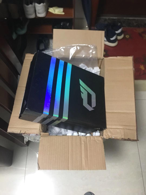 ebay海淘adidas利拉德2代球鞋QQ-ex转运到手