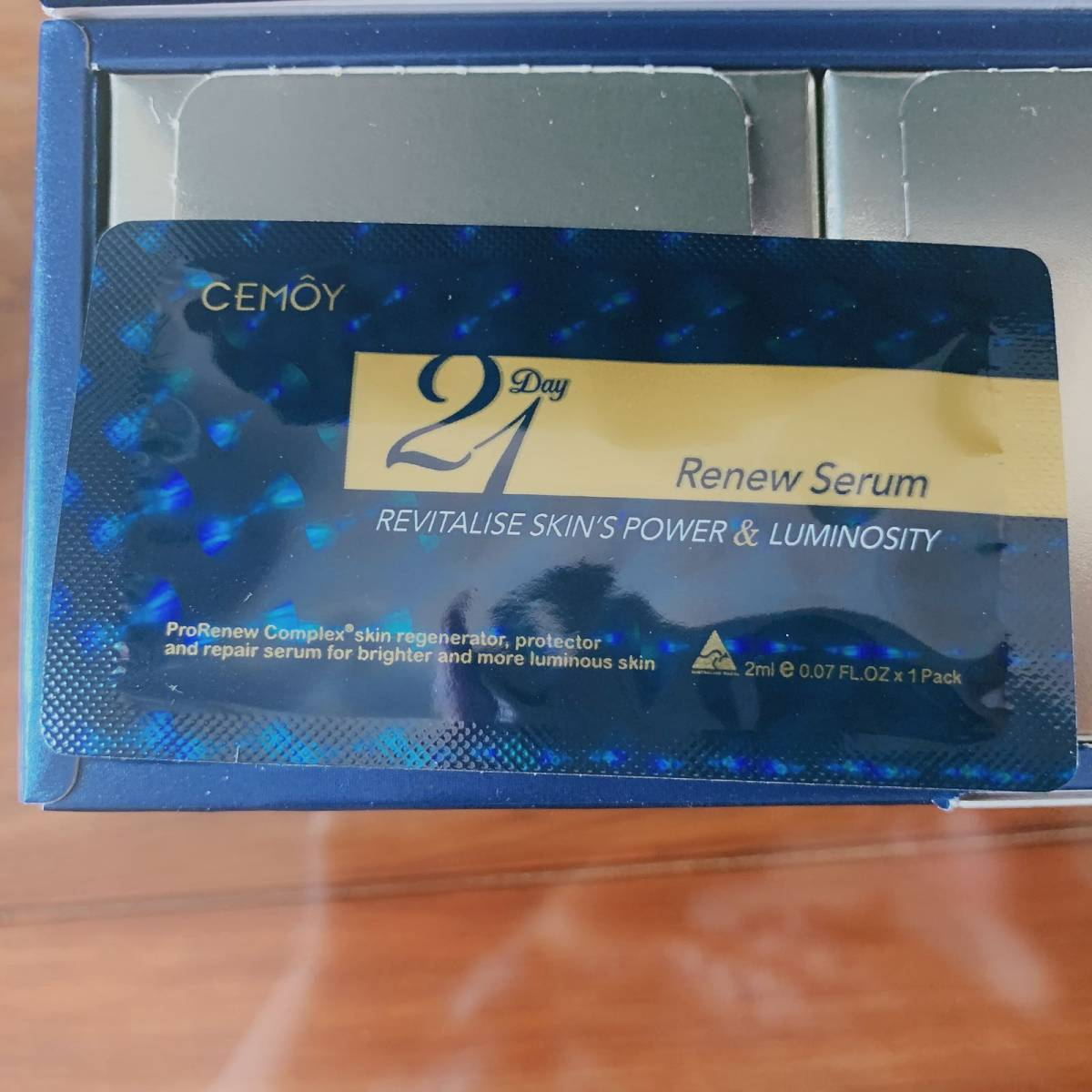 九月打卡挑战第一篇 今天来说说澳洲的cemoy极光21天精华