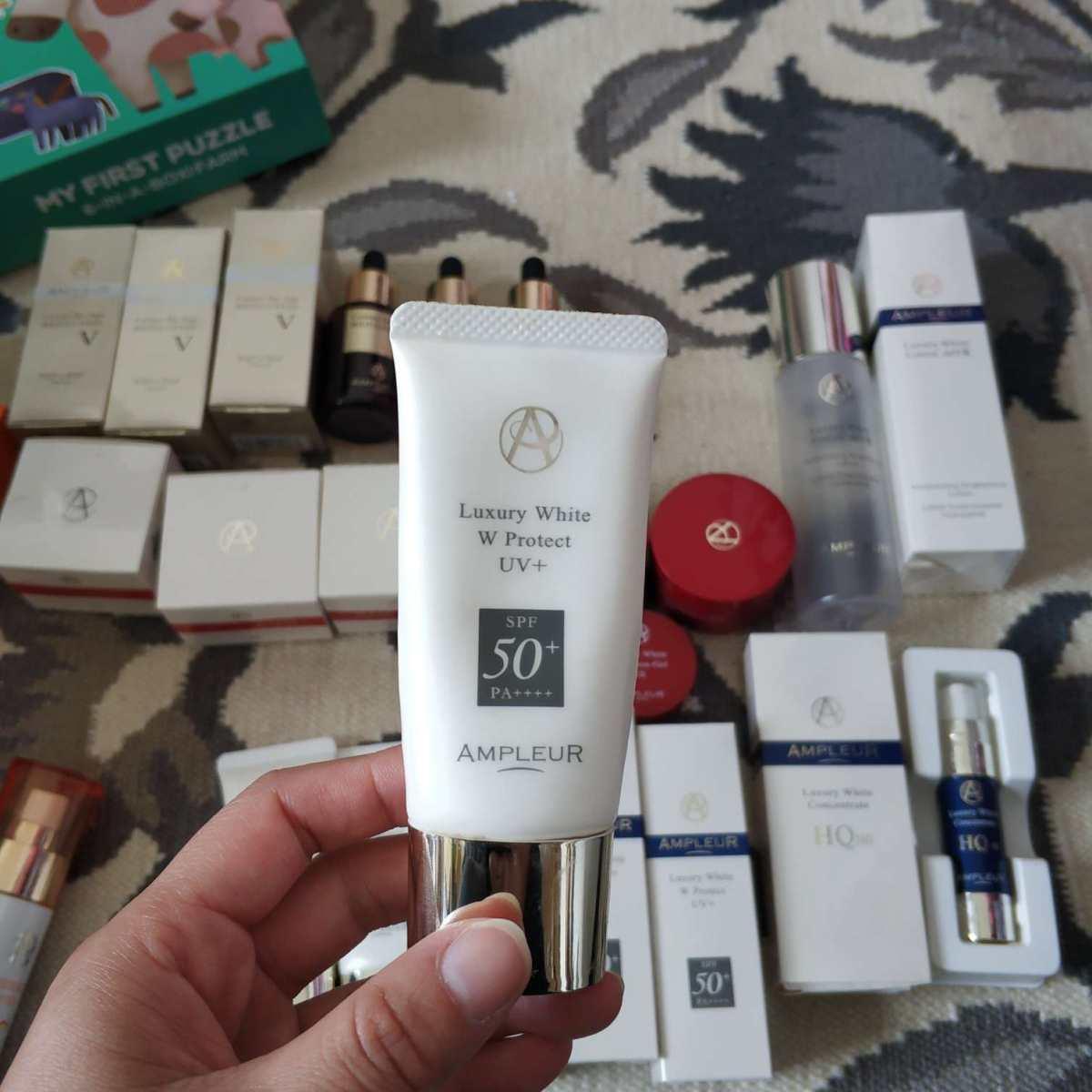 #我家梳妆台#护肤品以前一直用其他品牌,直到去年才换成了这个