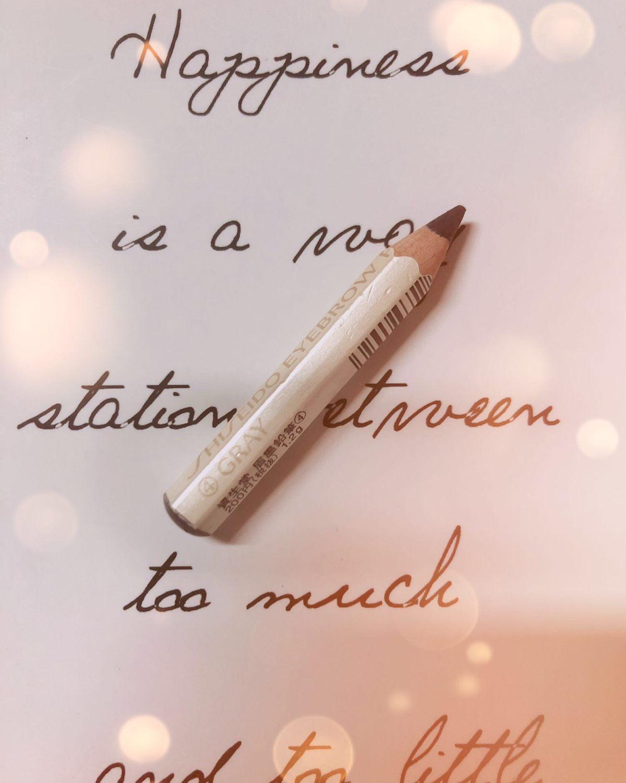 资生堂六角眉笔 🍭这款眉笔我大概用了三年了吧,便宜实惠又好