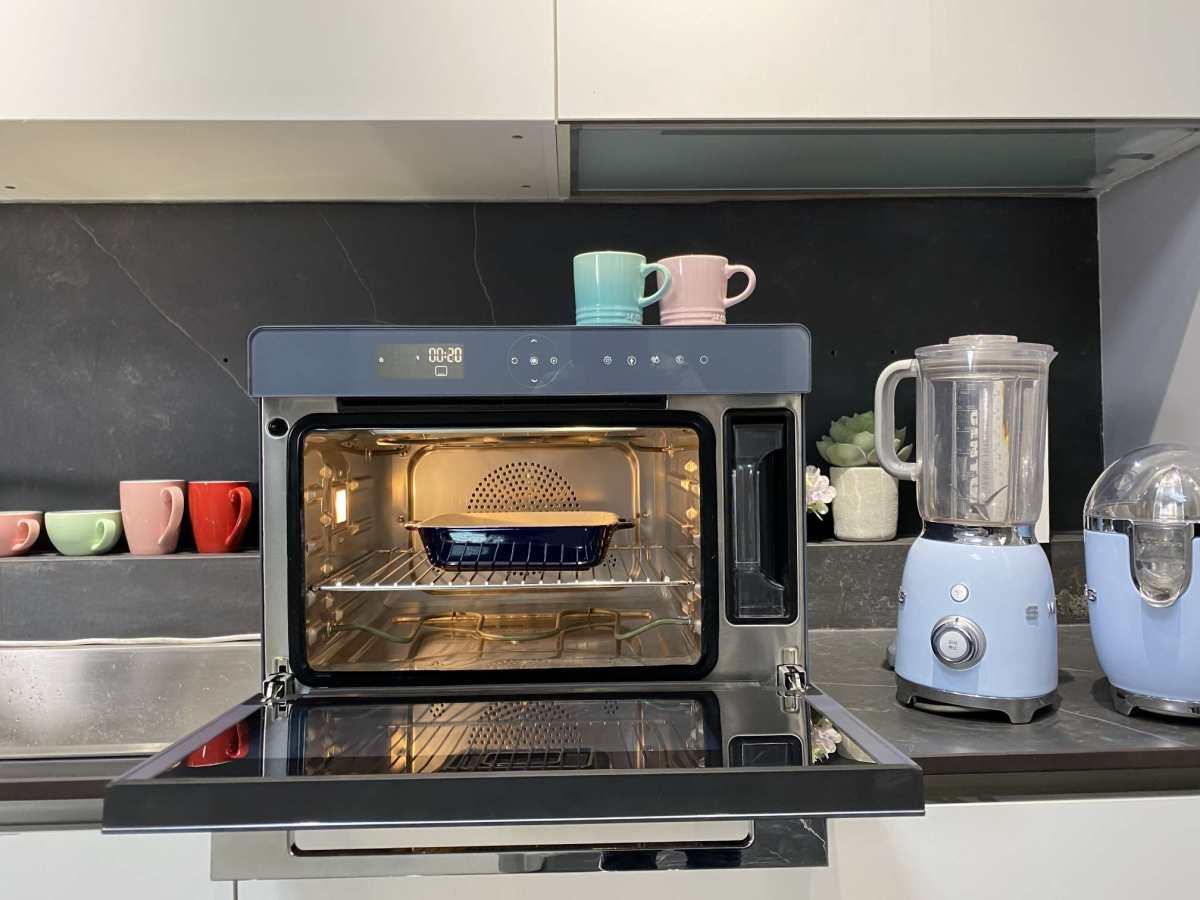 心心念念的蒸烤箱拔草啦,对比了很多品牌,看到GRAM蒸烤箱的