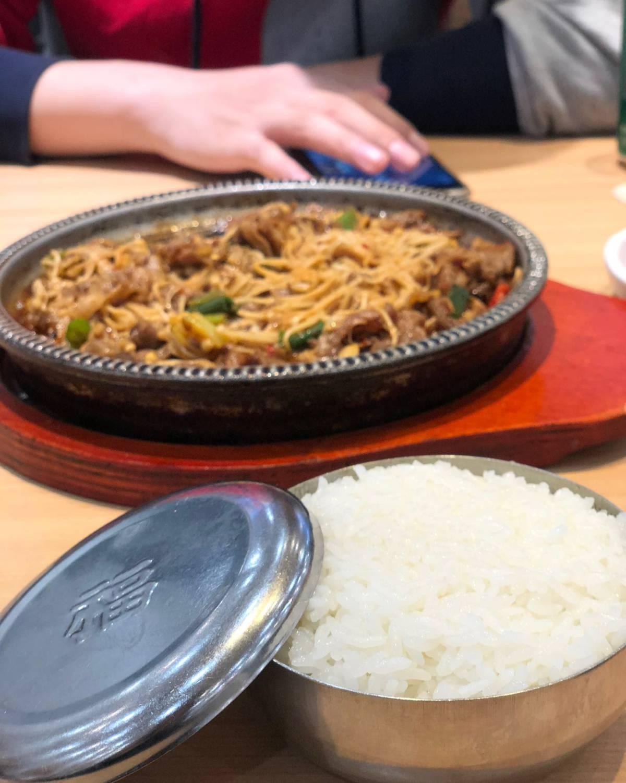 朝族美食之光❗️米村拌饭  ❣️十一去了吉林,逛商场的时候发