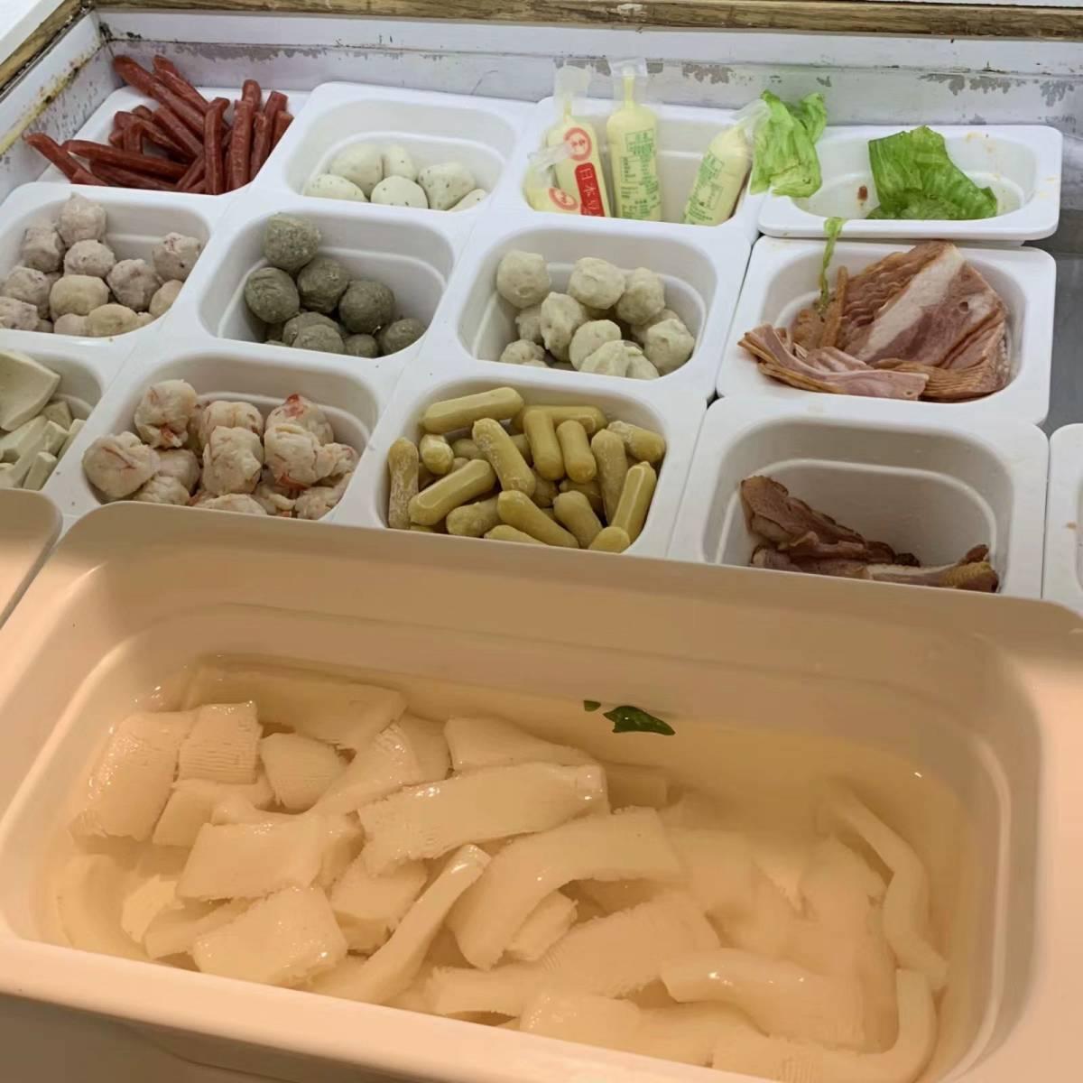 秋膘大作战之day3  🍜早午餐:食堂吃的牛肉面,面条是手