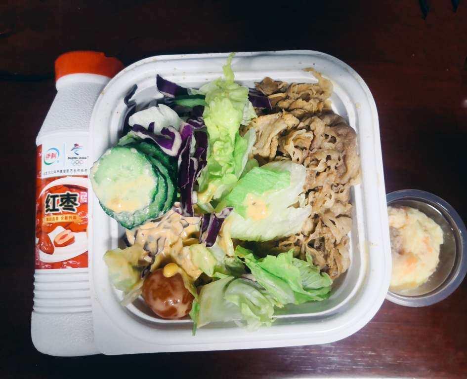 🌟秋膘大作战 🥗今天dandan吃的吃吉野家的牛肉饭、蔬