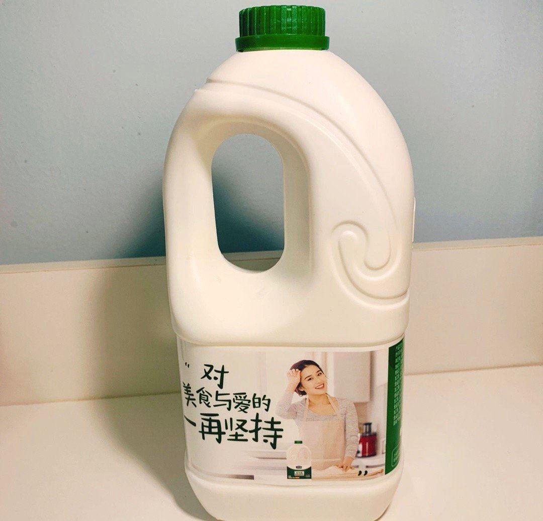 秋膘大作战之day11  早午餐:酸奶 大桶装豪饮,那叫一个