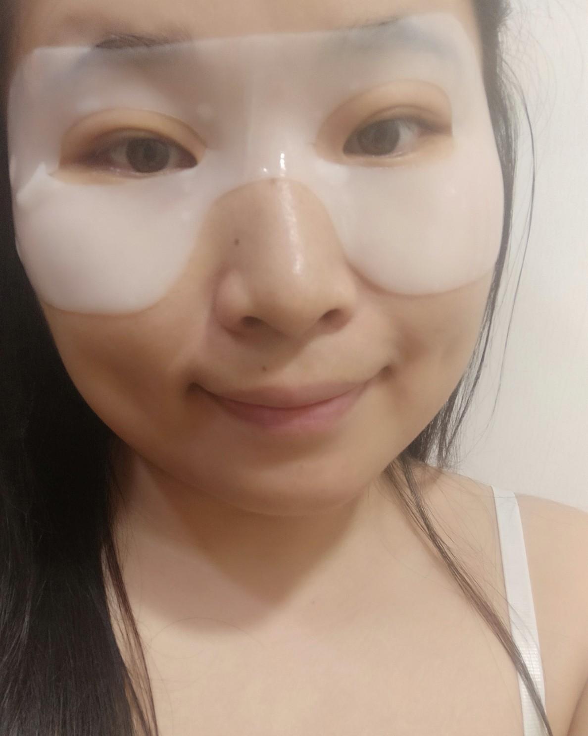 ✨7天面膜挑战--兰蔻眼膜  兰蔻眼膜是生日礼送的,查了一下