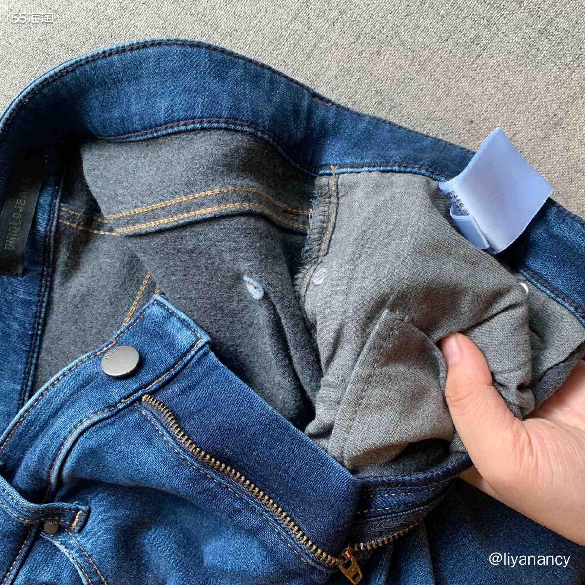 heattech牛仔裤  ✨这款是优衣库家的heattech