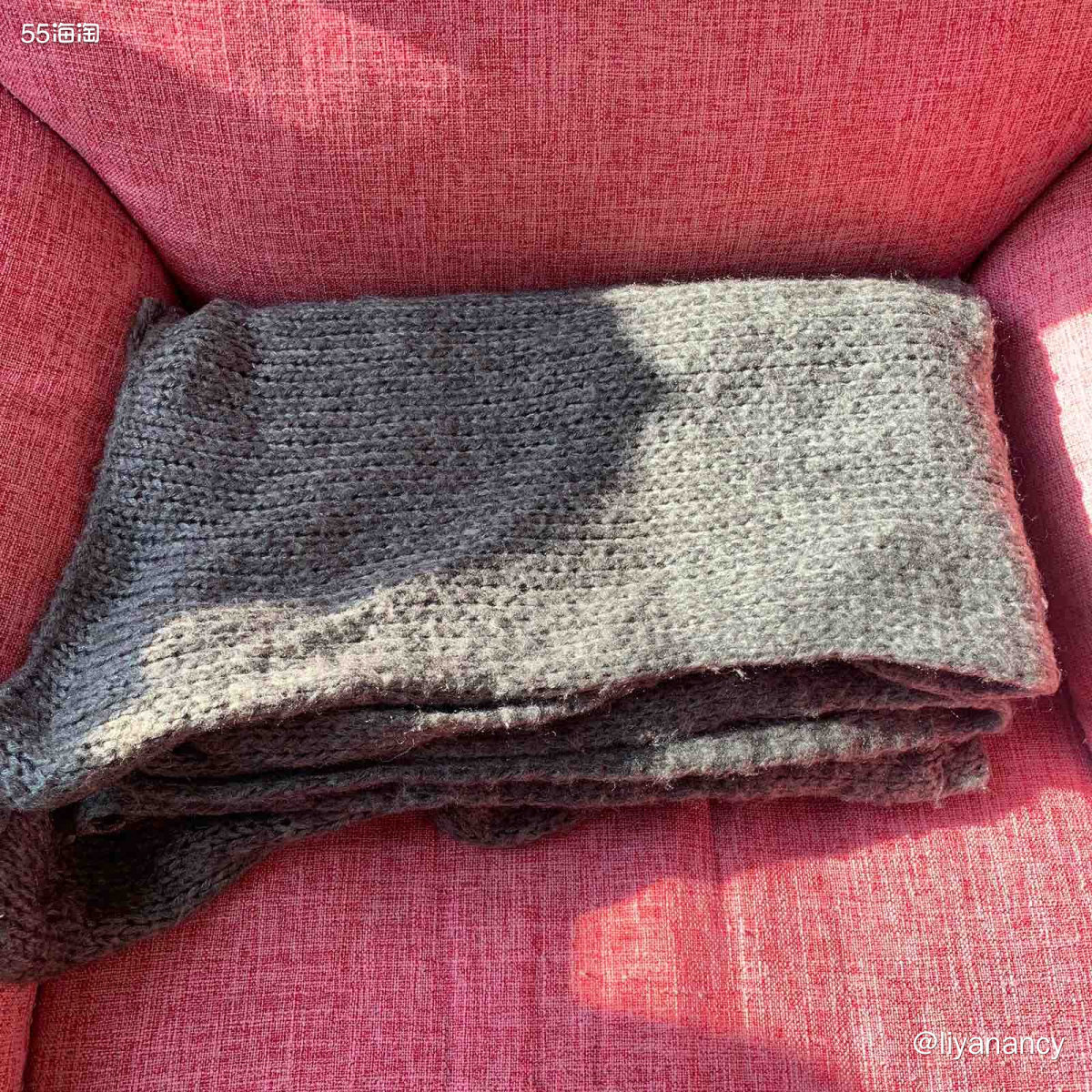 毛线针织围巾  ✨小学的时候我有好几条毛线围巾,反倒是大了之