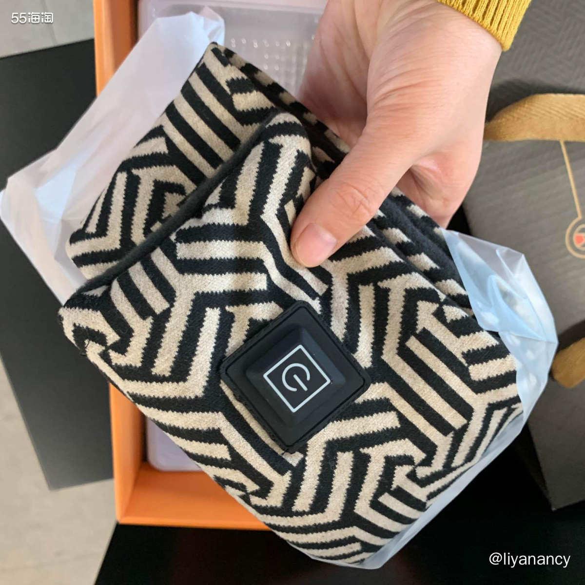 发热的围巾  ✨这个也是今天圣诞活动抽奖的奖品,叫做发热的围
