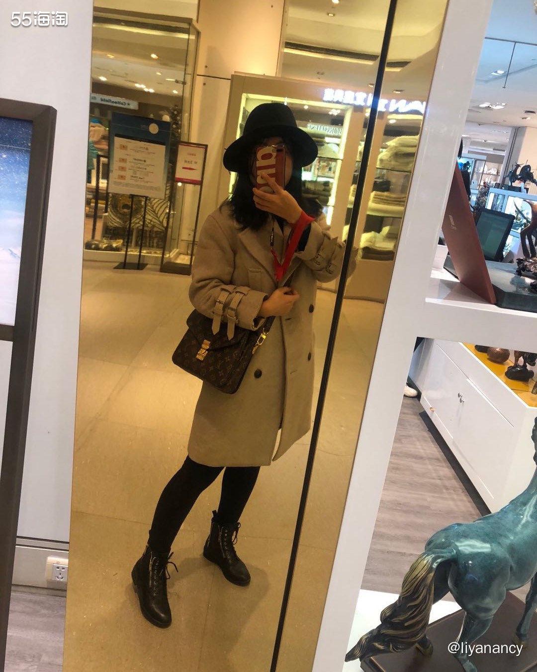 羊毛呢大衣  ✨在网红店买的长款大衣,非常耐看的燕麦色,很有