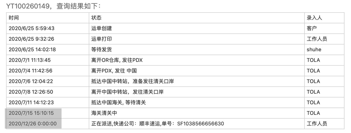 【运通速递晒单】IMXMSR+YT100260149+Tor