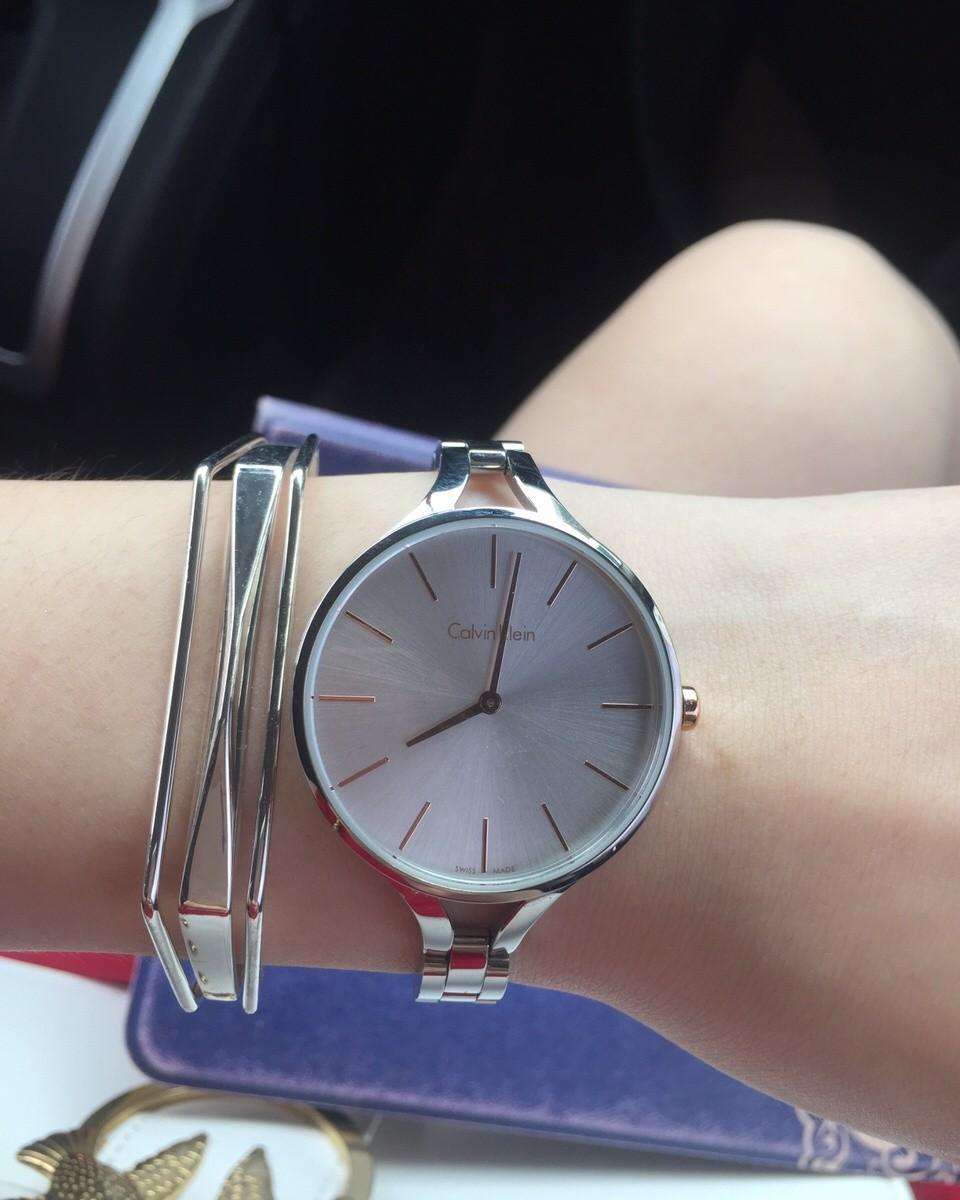 海淘晒单✨ck的女款手表,价格超级美丽,💰49刀,实在忍不