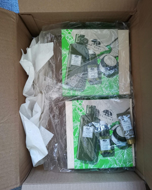 海淘开箱记 悦木之源菌菇三件套走中环无忧线,完美收货。 终于