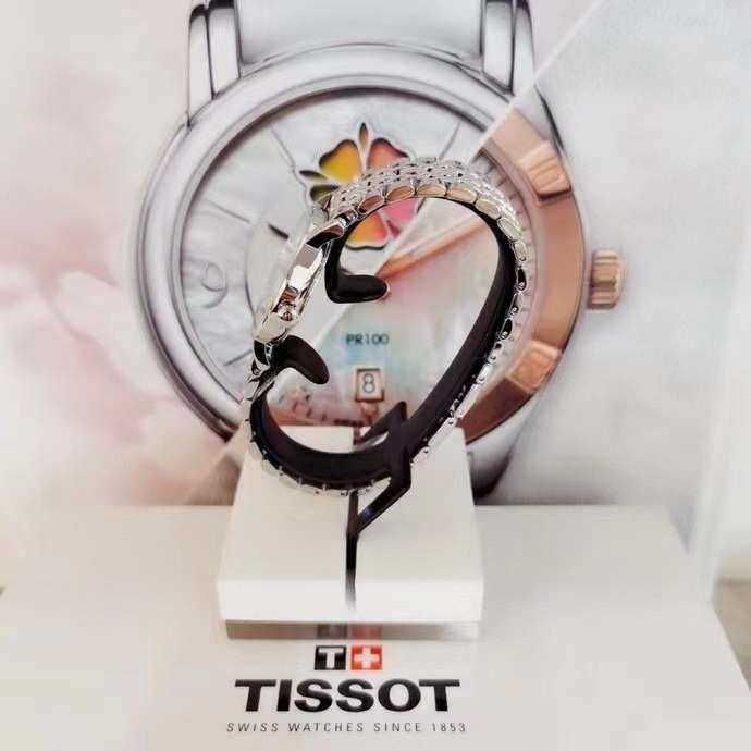 🇺🇸现货⚡️天梭TISSOT魅时系列石英女表,30mm表