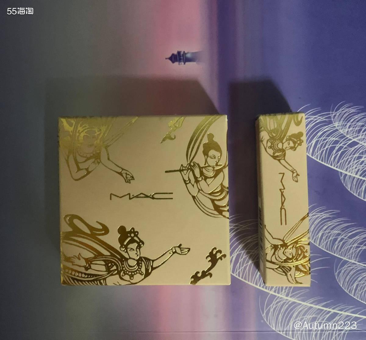 新春晒单之MAC敦煌限定版仙桃高光和RUBY WOO口红