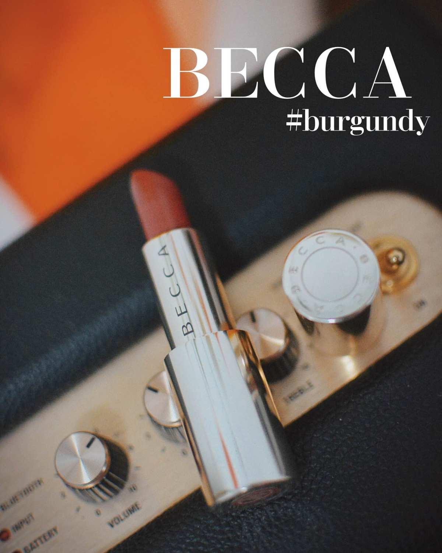 Becca #Burgundy 金管口红 这个是在某知名代购